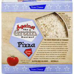 Against The Grain Pizza Gluten Free Three Cheese   Cambridge