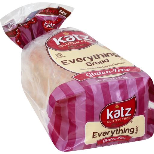 Katz Bread, Everything, Gluten Free | Shop | Mackenthuns