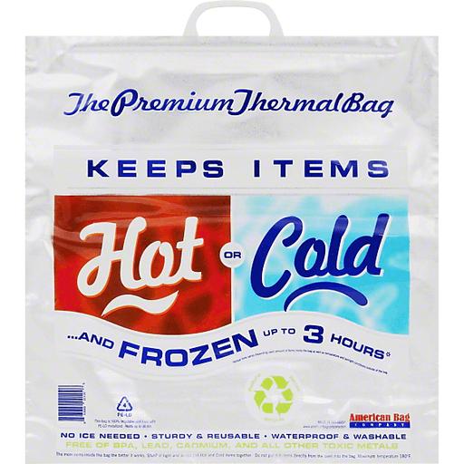 American Bag Thermal Bag, Premium, Hot or Cold