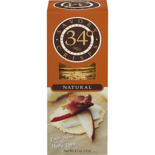 34 Degrees Crisps, Natural