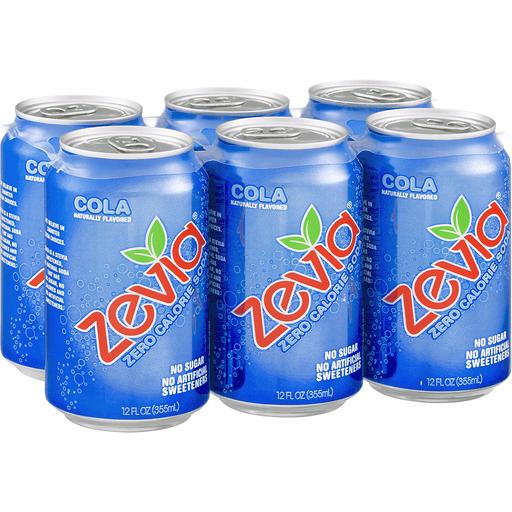 Zevia Soda, Zero Calorie, Cola