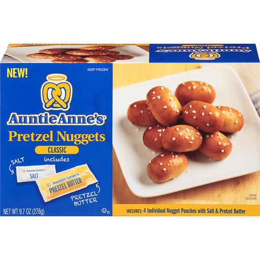 Auntie Anne's® Classic Pretzel Nuggets 9.7 oz. Box