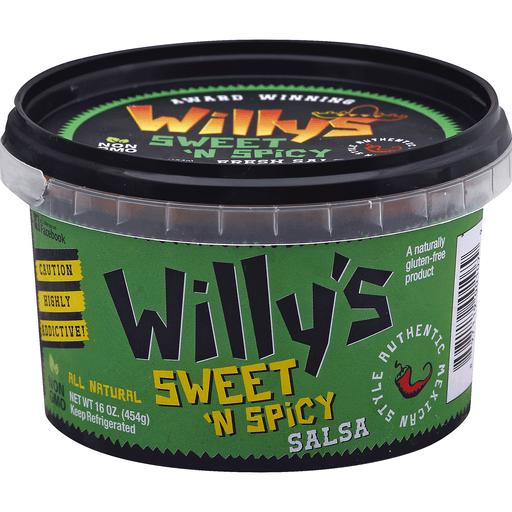 Willys Salsa, Sweet 'n Spicy
