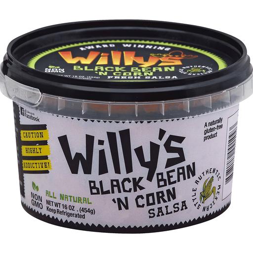 Willys Salsa, Black Bean 'N Corn