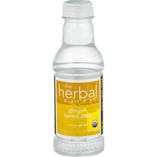 Ayalas Herbal Water, Ginger Lemon Peel