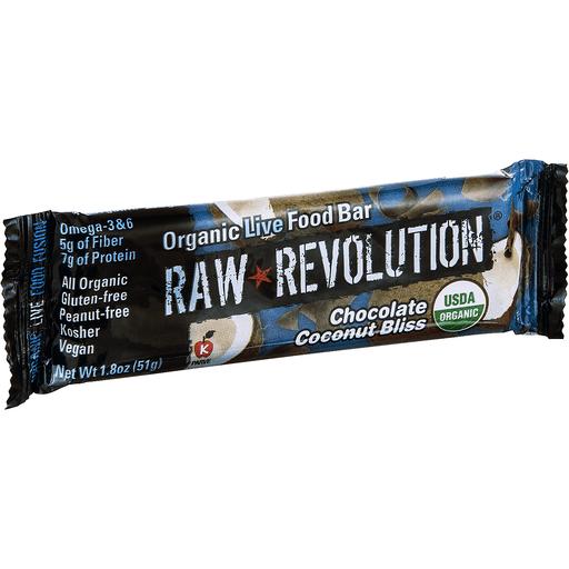 Raw Revolution Live Food Bar, Organic, Chocolate Coconut Bliss