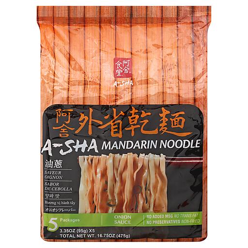 A-Sha Mandarin Noodle Onion - 5pk