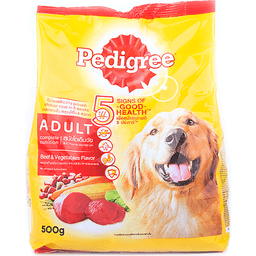 Pedigree Pet Food Beef & Vegetable 500gr