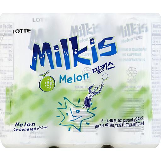 Lotte Milkis 6-Pk - Melon