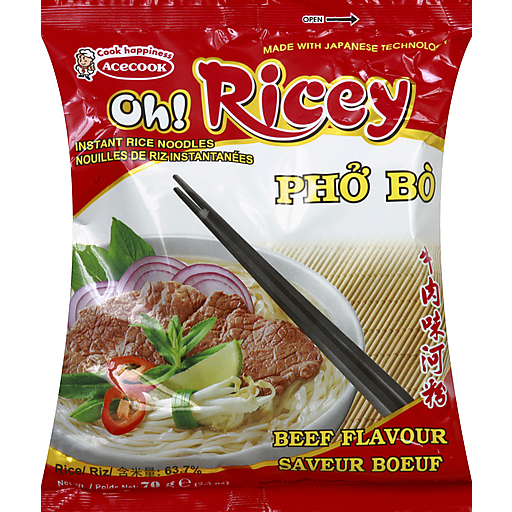 Acecook Oh Ricey Pho Bo