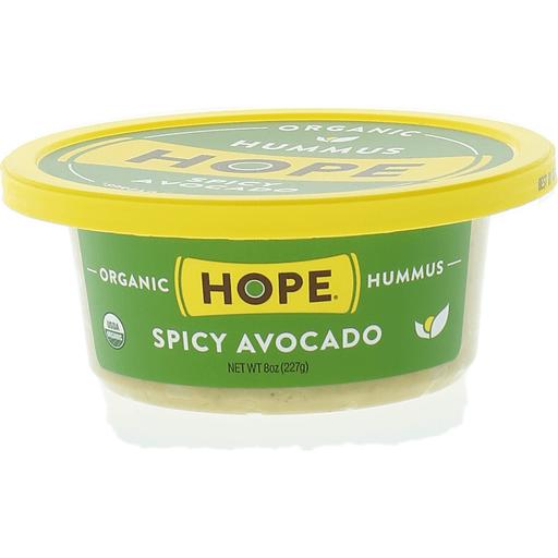 Hope Foods Hummus, Organic, Spicy Avocado