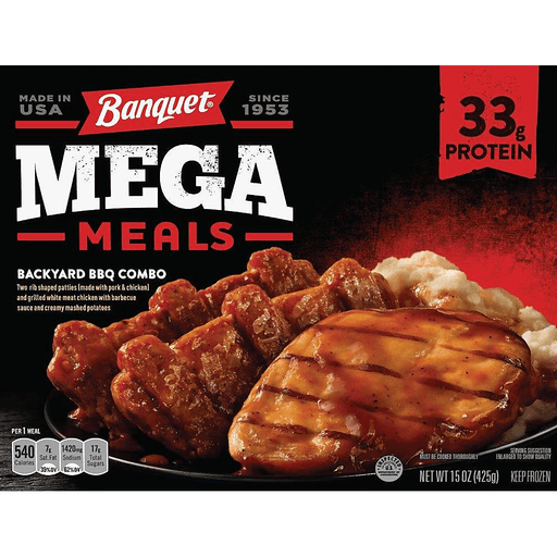 Banquet Mega Meals Backyard BBQ Combo
