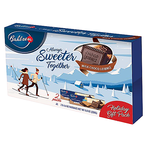 Bahlsen Milk Chocolate Cookie- Leibnz
