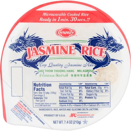 Dynasty Cooked Rice Jasmine