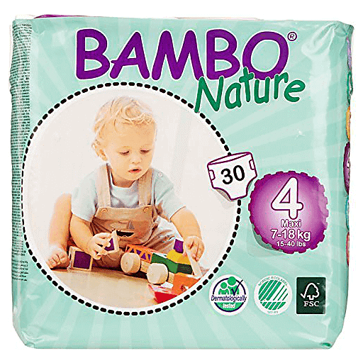 Bambo Nature Diapers - Size 4