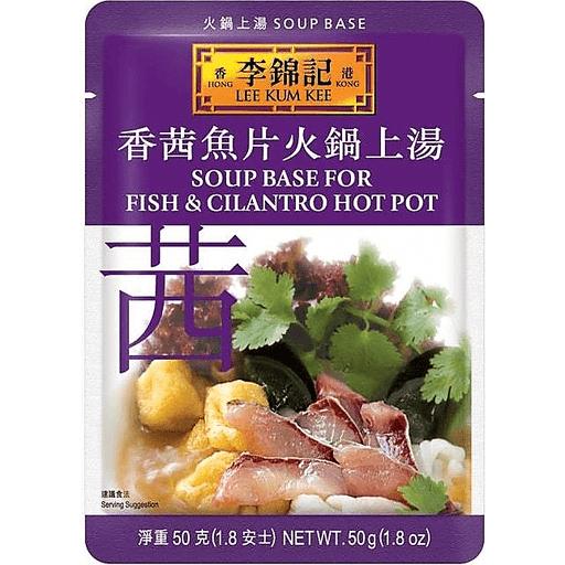 Lee Kum Kee Hot Pot Fish Cilantro Soup Base