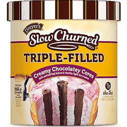 Dreyers Slow Churned Triple Filled Creamy Chocolatey Cores Ice Cream