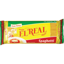 El Real Pasta Spaghetti 1kg Walter Mart Carmona