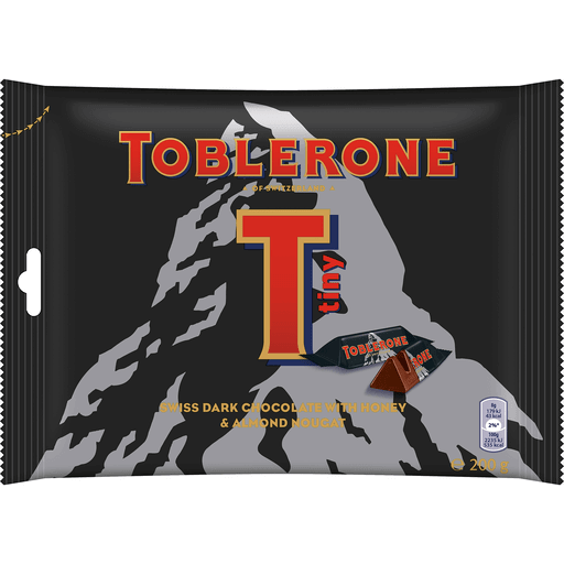 Toblerone Mini Dark Chocolate 200gr Waltermart Delivery