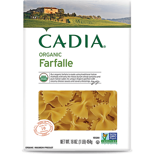 Cadia Organic Farfalle Pasta