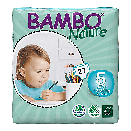 Bambo Nature Diapers - Size 5