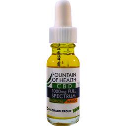 Fountain of Health CBD Oil Tropical Mango | Rubys Price