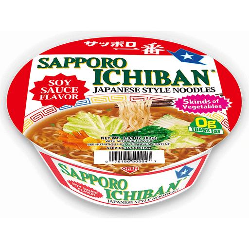 Sapporo Ichiban Shoyu Ramen Bowl