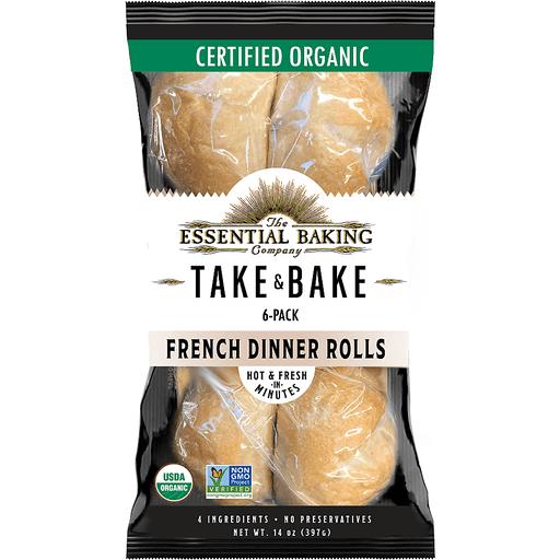 Essential Bakng Take & Bake Dinner Rolls