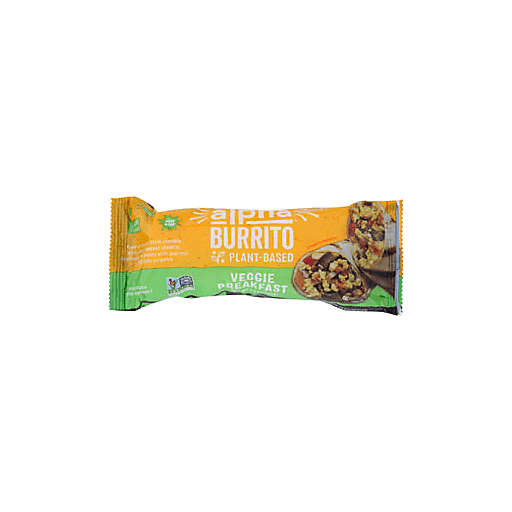 Alpha Foods Veggie Breakfast Burrito Vegan Vegetarian Martin S Super Markets