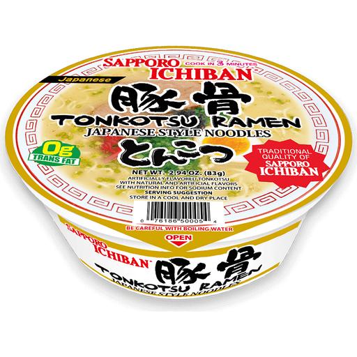 Sapporo Ichiban Tonkotsu Ramen Bowl