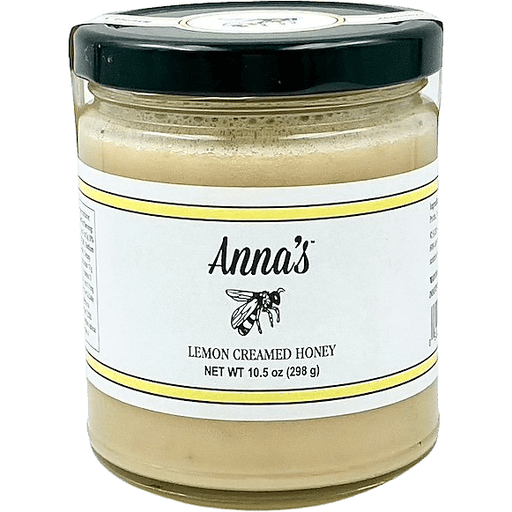 Annas Lemon Creamed Honey