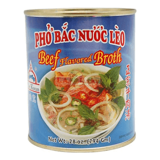 Por Kwan Pho Bac Beef Broth