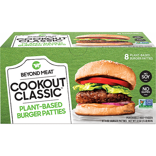 Beyond Meat Cookout Classic Plant Based Burgers