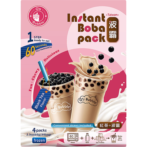 O's Bubble Instant Boba Tea Pack-Black Tea