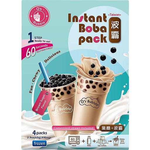 O's Bubble Instant Boba Tea Pack-Brown Sugar