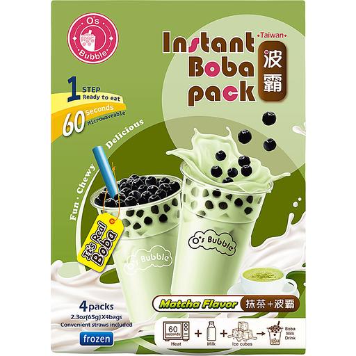 O's Bubble Instant Boba Tea Pack-Matcha