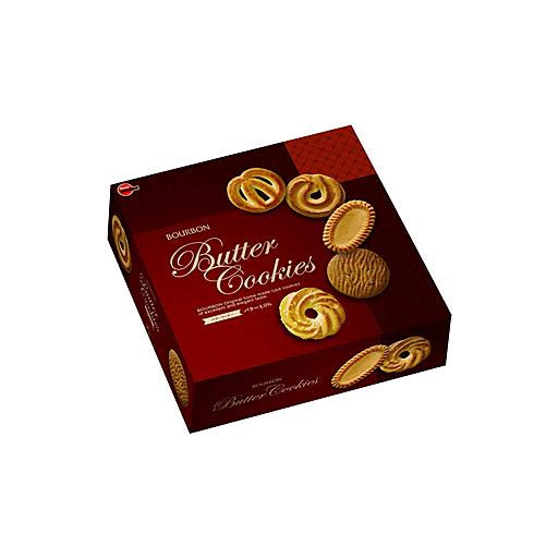 Bourbon Gift Box Butter Cookie Tin