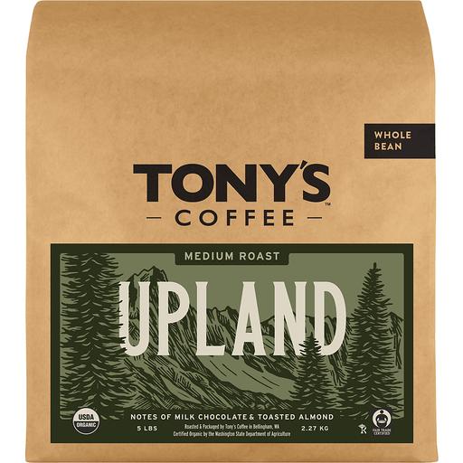 Tonys Coffee Upland Whole Bean Coffee