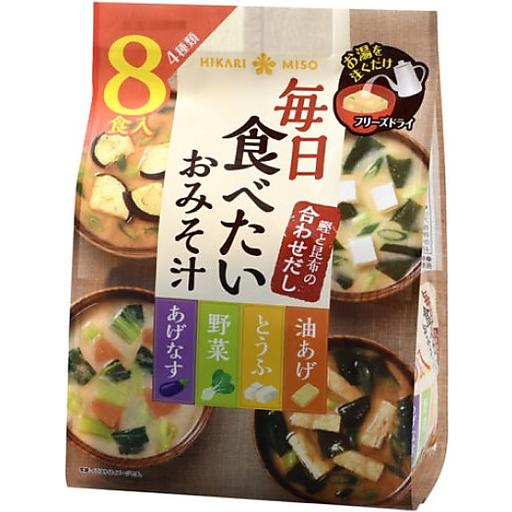 Hikari Everyday Miso Soup Freeze-Dry 8p