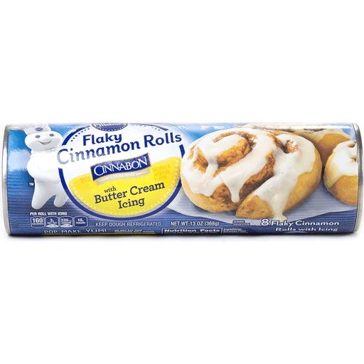 Pillsbury Cinnamon Rolls, Flaky, with
