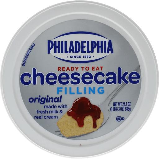 Philadelphia Cream Cheese Ready To Eat Cheesecake Filling Original