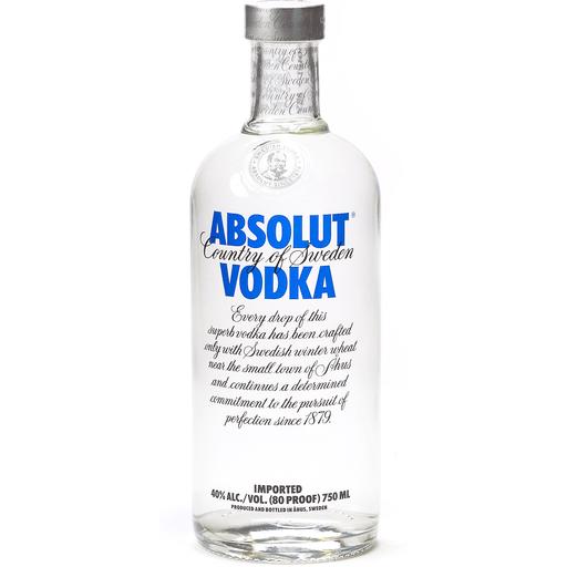 Absolut® Vodka Sweden Original 750ml Bottle