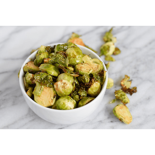 Air Fryer Brussels Sprouts with Garlic Bacon Aioli