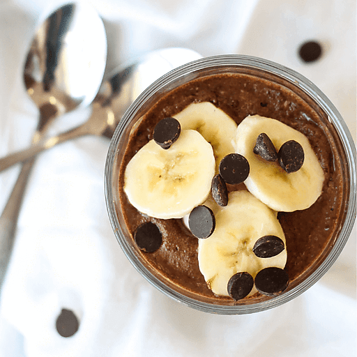 Almond Butter Chocolate Chia Pudding