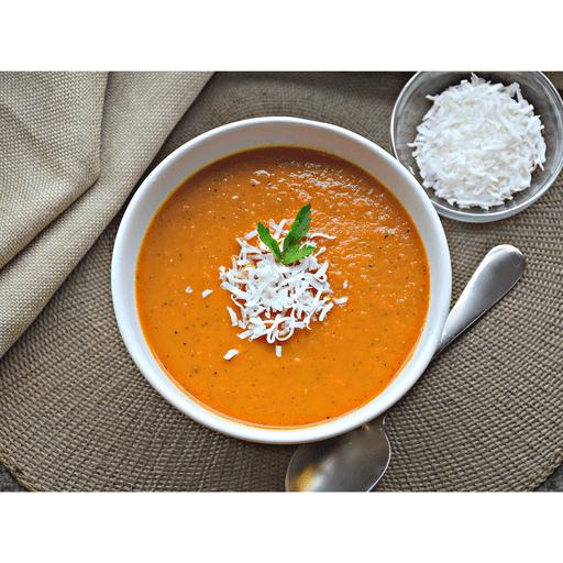 Apple Carrot Ginger Soup