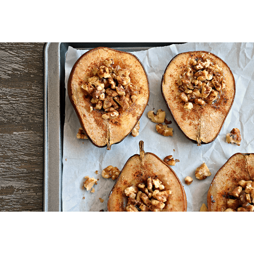 Baked Pears with Maple & Cinnamon