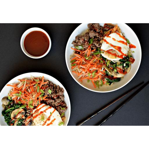 Bibimbap - Korean Rice Bowls