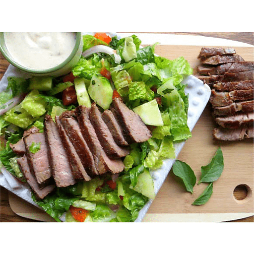Burgundy Pepper Spoon Steak Salad