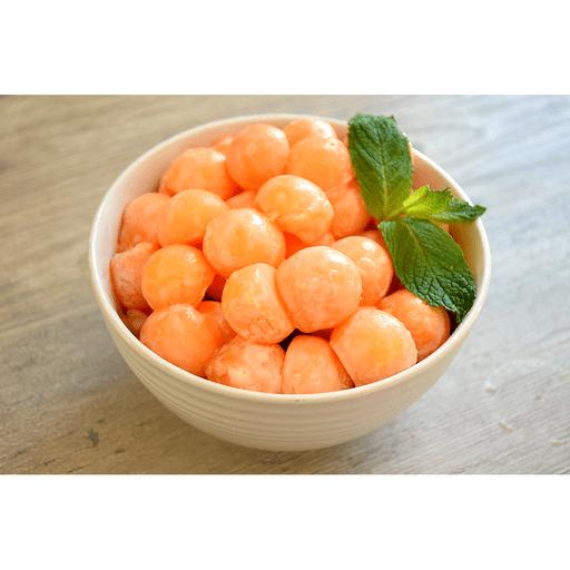 Cantaloupe with Honey Lime Dressing
