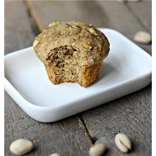 Chai Pistachio Muffins